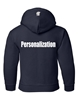 Picture of SMCS Navy Youth Hooded Sweatshirt