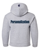 Picture of SMCS Grey Youth Hooded Sweatshirt