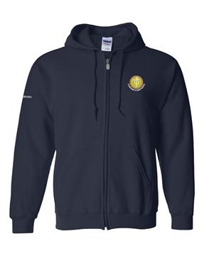 Picture of SMCS Navy Full Zip Hooded Sweatshirt