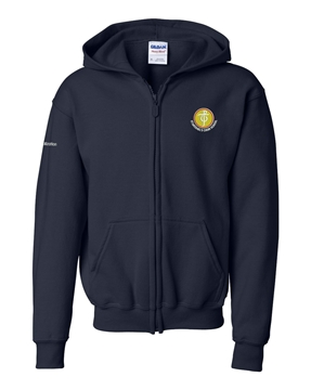 Picture of SMCS Navy Youth Full Zip Hooded Sweatshirt